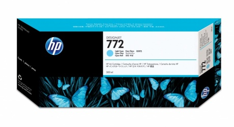 Cartucho HP 772 Cyan Claro 300ml