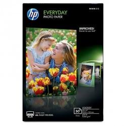 HP Papel Fotográfico Everyday Glossy, 50 Hojas de 4 x 6'\