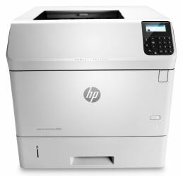 HP LaserJet Enterprise M605dn, Blanco y Negro, Laser, Inalámbrico (con Adaptador), Print