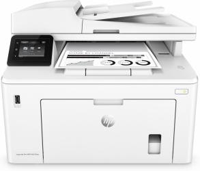 Multifuncional HP Laserjet Pro M227fdw, Blanco y Negro, Inalámbrico, Print/Scan/Copy/Fax