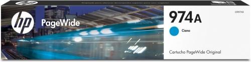 Cartucho HP 974A Cyan, 3000 Páginas