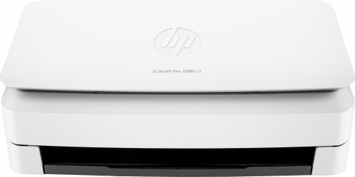 Scanner HP ScanJet Pro 2000 s1, 600 x 600 DPI, Escáner Color, Escaneado Dúplex, Blanco