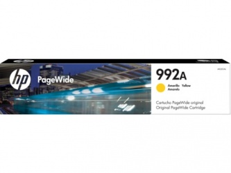 Cartucho HP PageWide 992A Amarillo
