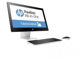 HP Pavilion 23-q154la All-in-One Touchscreen 23'', AMD A8-7410 2.20GHz, 8GB, 1TB, Windows 10 Home 64-bit, Negro/Blanco