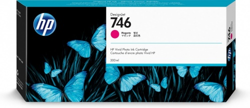 Cartucho HP 746 Magenta, 300ml