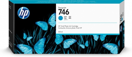 Cartucho HP 746 Cyan, 300ml