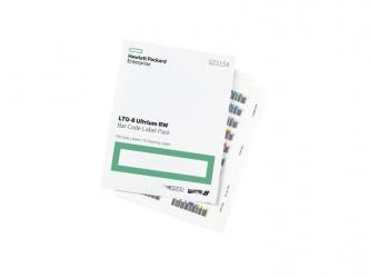 HP Etiquetas Adhesivas para LTO-8 Ultrium RW, 100 Piezas