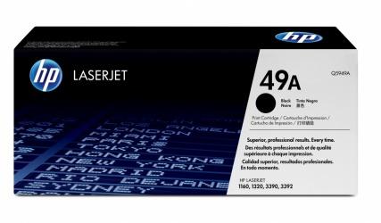 Tóner HP 49A Negro, 2500 Páginas