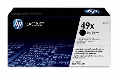 Tóner HP 49X Negro, 6000 Páginas