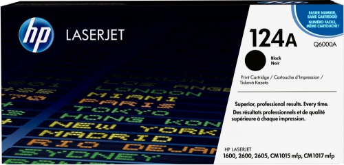 Tóner HP 124A Negro, 2500 Páginas