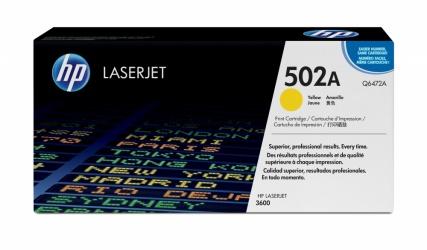 Tóner HP 502A Amarillo, 4000 Páginas