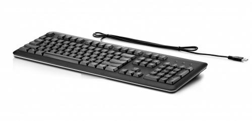 Teclado HP QY776AA, Alámbrico, 1.8 Metros, USB, Negro (Inglés)