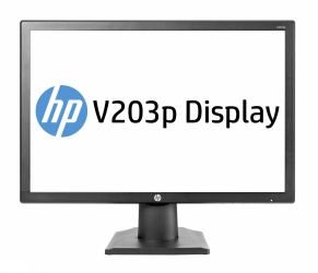 Monitor HP V203p LED 19.5'', HD+, Widescreen, Negro