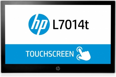 HP L7014t LED Touchscreen 14'', Widescreen, Negro