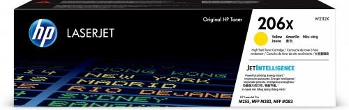 Tóner HP 206X Amarillo, 2450 Páginas