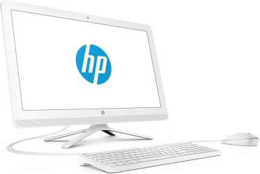 "HP 20-c207la All-in-One 19.5"", Intel Core i3-7100U 2.40GHz, 4GB, 1TB, Windows 10 Home 64-bit, Blanco"
