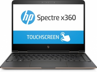 "HP 2 en 1 Spectre x360 13-ac003la 13.3"", Intel Core i7-7500U 2.70GHz, 8GB, 256GB SSD, Windows 10 Home 64-bit, Plata"
