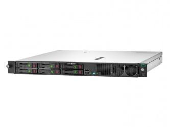 "Servidor HPE ProLiant DL20 Gen10, Intel Xeon E-2134 2.50GHz, 16GB DDR4, máx. 64GB, 2.5"", SATA, Rack (1U) - no Sistema Operativo Instalado"