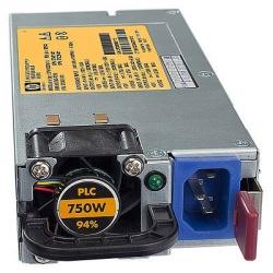 HPE 512327-B21 Fuente de Poder para ProLiant, 80 PLUS Gold, 750W