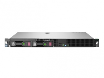 Servidor HPE DL20 Gen9, Intel Xeon E3-1220 v6 3GHz, 8GB, max. 8TB, 3.5'', SATA, Rack 1U - no Sistema Operativo Instalado