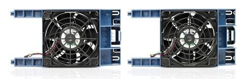 HP Kit de 4 Ventiladores para HP ML350, Negro/Azul