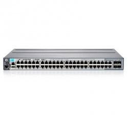 Switch HPE Gigabit Ethernet 2920-48G, 44 Puertos 10/100/1000Mbps, 176Gbit/s, 2048 Entradas - Gestionado