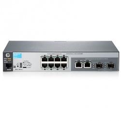 Switch HPE Gigabit Ethernet 2530-8G, 20 Gbit/s, 8 Puertos, 16.000 Entradas - Gestionado