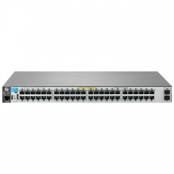 Switch HPE Gigabit Ethernet 2530-48G-PoE+-2SFP+, 48 Puertos 10/100/1000Mbps + 2 Puertos SFP+, 136 Gbit/s, 16.000 Entradas - Gestionado