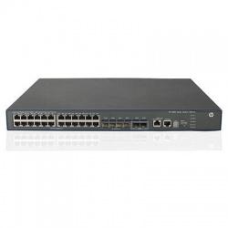Switch HPE Gigabit Ethernet 5500-24G-4SFP HI, 176Gbit/s, 24 Puertos, 12.000 Entradas