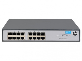 Switch HPE Gigabit Ethernet JH016A, 16 Puertos 10/100/1000Mbps, 32 Gbit/s - No Administrable