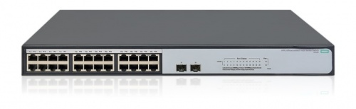 Switch HPE Gigabit Ethernet 1420-24G-2SFP+ 10G, 24 Puertos 10/100/1000Mbps + 2 Puertos SFP+, 88 Gbit/s - No Administrable