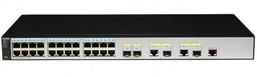 Switch Huawei Fast Ethernet 2355247, 24 Puertos 10/100Mbps + 4 SFP, 12.8 Gbit/s, 16.000 Entradas - Gestionado