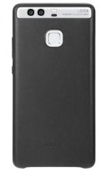 Huawei Funda para Huawei P9, Negro, Resistente a Rayones