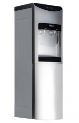 Hypermark Dispensador de Agua Cleanwater, Frio/Caliente, Plata/Negro