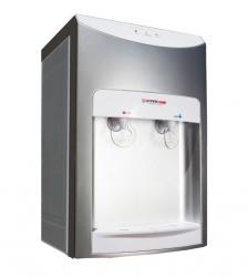 Hypermark Dispensador de Agua Cleanwater Lite, Frio/Caliente, Plata/Blanco