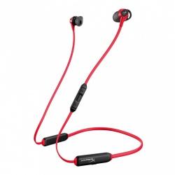 HyperX Audífonos Intrauriculares con Micrófono Cloud Buds, Inalámbrico, Bluetooth, 20cm, Negro/Rojo
