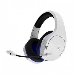 HyperX Audífonos Gamer Cloud Stinger Core para PS4/PC, Inalámbrico, USB, Blanco