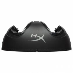 HyperX Cargador para Controles DualShock 4, Negro, para PlayStation 4