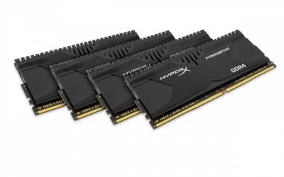 Kit Memoria RAM HyperX Predator DDR4, 2666MHz, 16GB (4 x 4GB), CL13, Non-ECC, XMP