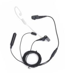 Hytera Auricular con Micrófono para Radio EAN18, Negro, para Hytera