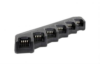 Hytera Cargador de Batería MCA08, para 6 Unidades, Entrada 100 - 240 V, Salida 1.5 A, Negro