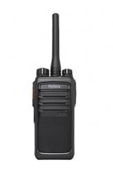 Hytera Radio Análogo Portátil de 2 Vías PD506 UL913, 256 Canales, Negro