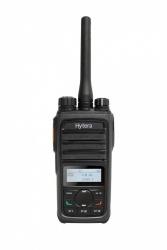 Hytera Radio Análogo Portátil de 2 Vías PD566U, 512 Canales, Negro