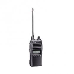 ICOM Radio Análogo Portátil de 2 Vías IC-F4230DS/32, 128 Canales, Negro