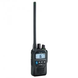 ICOM Radio Análogo Portátil de 2 Vías IC-M85, 100 Canales, Negro