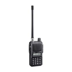 ICOM Radio Análogo Portátil de 2 Vías IC-V80HD, 207 Canales, Negro