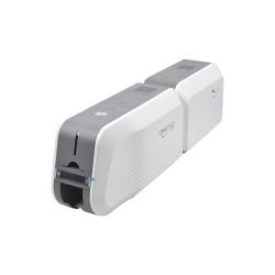 IDP SMART-51L, Kit Impresora de Credenciales, 300 x 300 DPI, USB 2.0, Gris/Blanco - incluye Cinta a Color, 100 Tarjetas