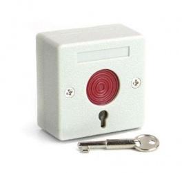iHORN Botón de Pánico HO01, Alámbrico, Blanco, 2 Piezas