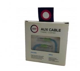 I Joy Cable Auxiliar 3.5mm Macho - 3.5mm Macho, 1.8m, Azul