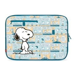 iLuv Funda Peanuts Snoopy para MacBook 13'', Azul